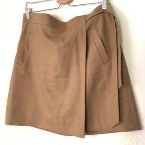 J.Crew Factory Wrap Mini Skirt